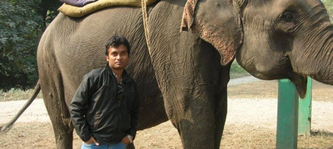 Jaldapara :- First time in my life I have done safari of an animal