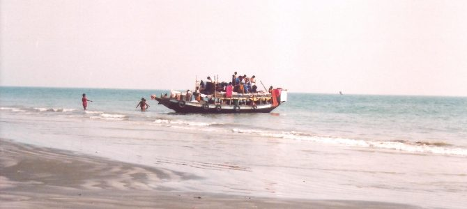 The tranquil beach of West Bengal- BAKKHALI