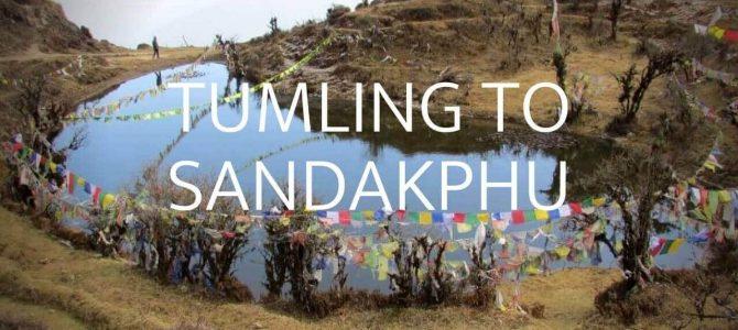 Tumling to Sandakphu