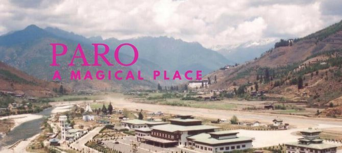 Bhutan is a beautiful place. High-end tourists love it- PARO