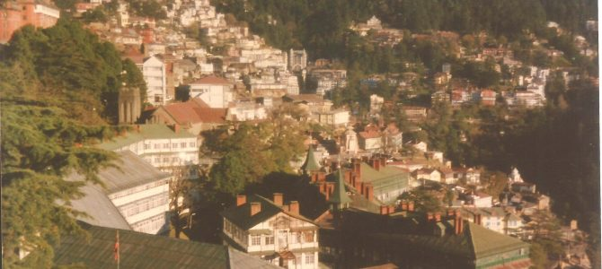 The Queen of Hills of India – Shimla